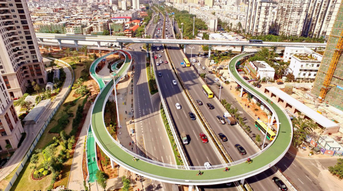 The Architecture Of Urban Bicycle Highways