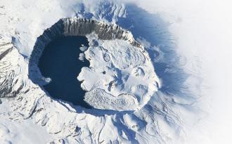 Nemrut  Volcano  Eyes