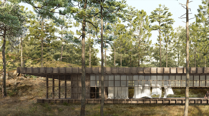 Architecture competition Yoga House on a Cliff winners selected from Italy, Korea and UK