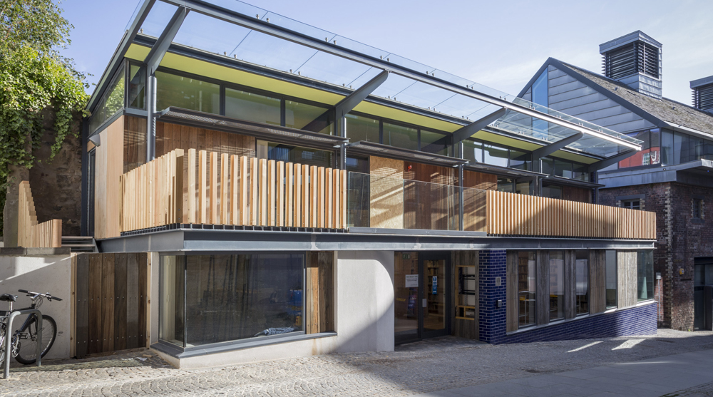 Scottish Poetry Library Building, Edinburgh, Scotland, Malcolm Fraser Architects, poetry