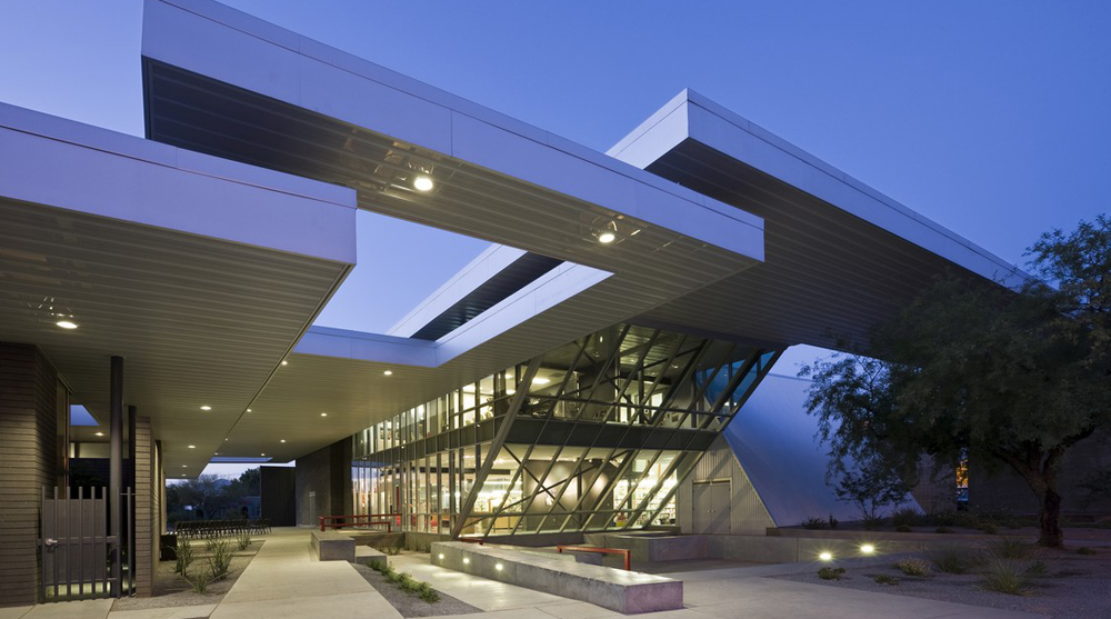 University of Arizona, Poetry Center, Line and Space, architects, architecture, poetry