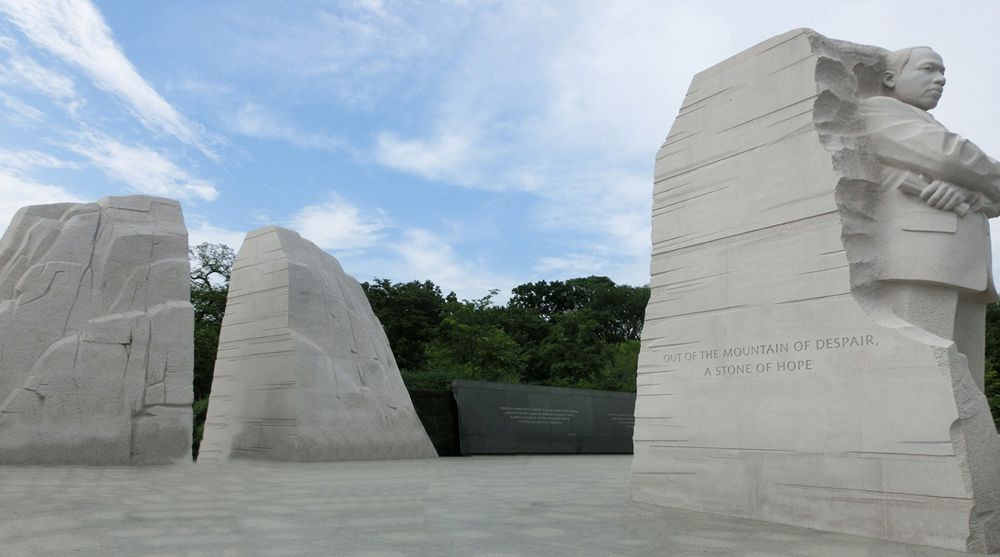 martin luther king jr memorial usa art architecture sculpture national park national monument