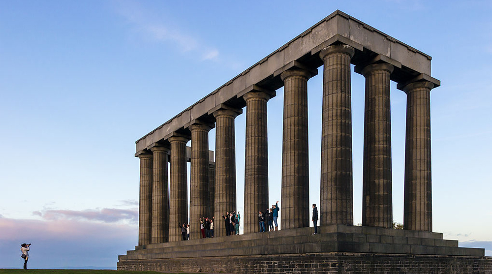 national monument national park architecture historical classical scottish