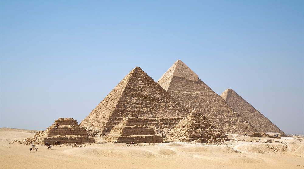 egyptian architecture pyramids