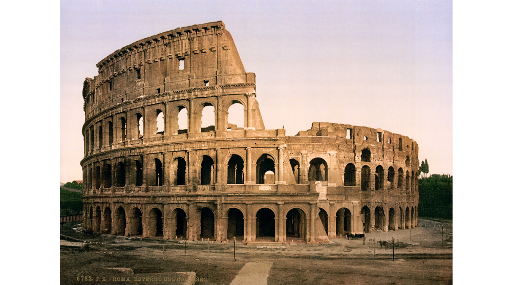 roman architecture colosseum