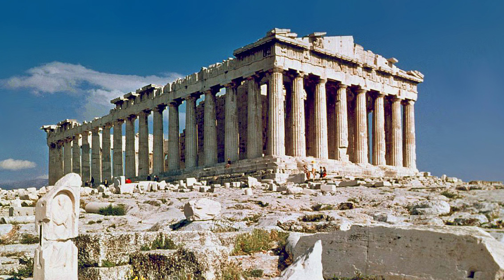 doric order greek architecture ancient greece parthenon