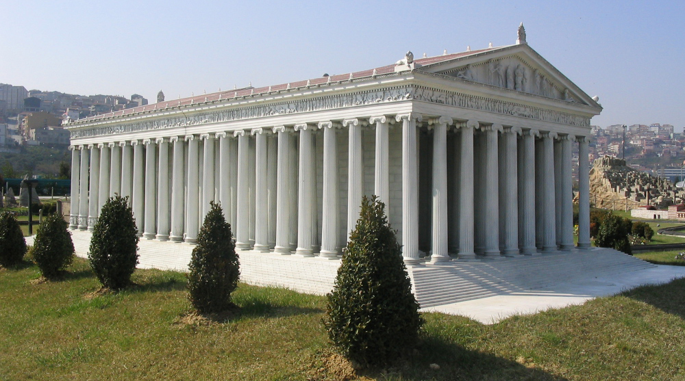 ionic order classic greek architecture