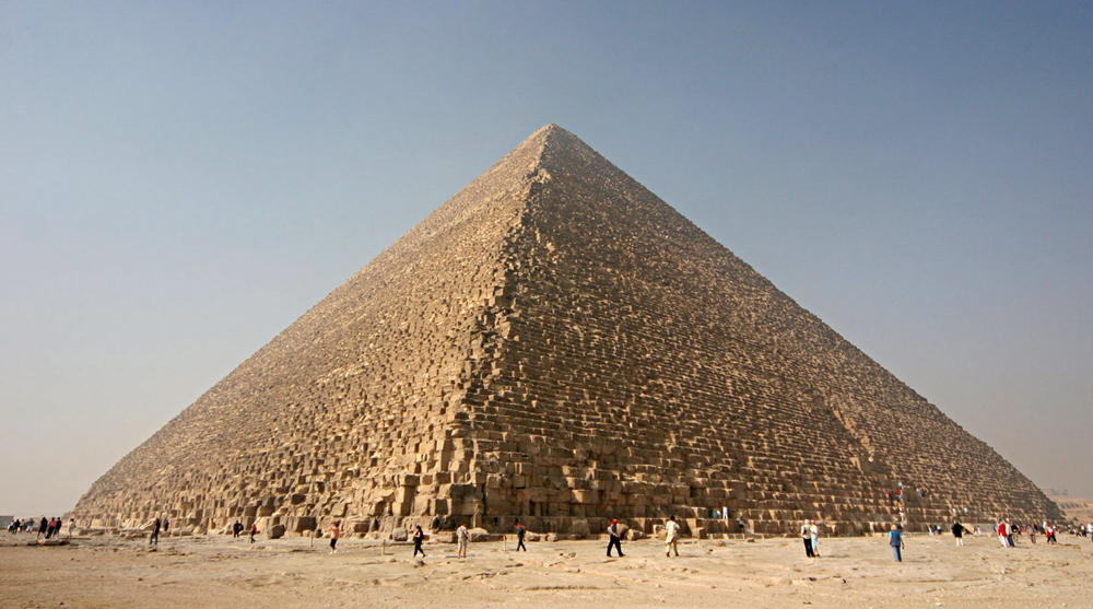 ancient egyptian architecture pyramids great pyramid of giza