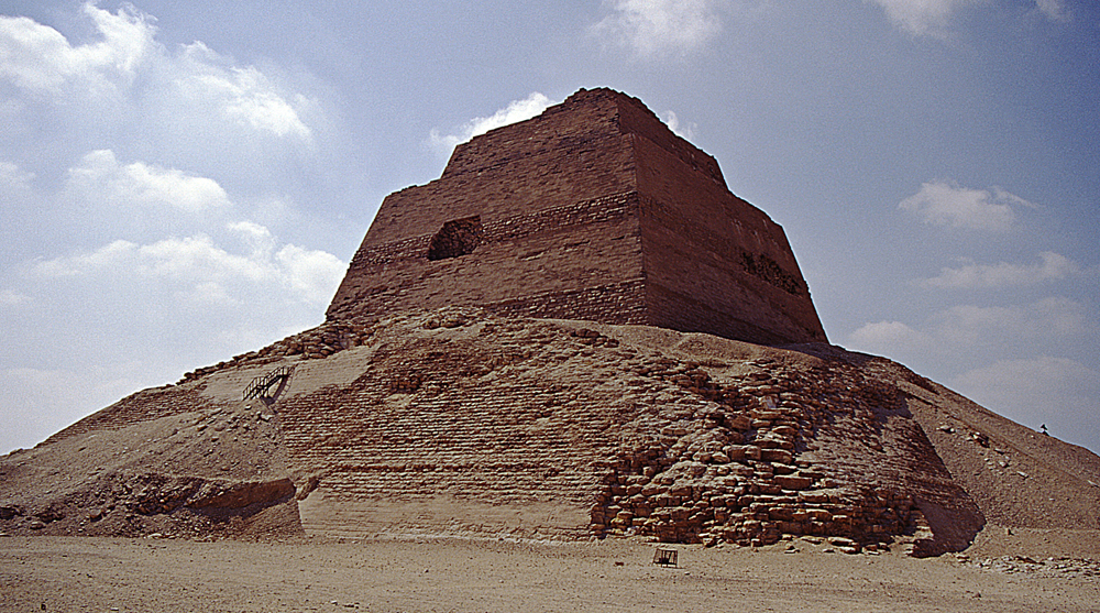 ancient egyptian architecture meidum pyramid