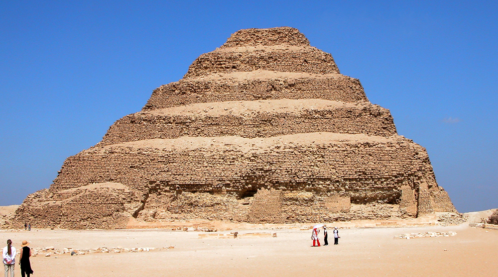 ancient egyptian architecture pyramids step pyramid djoser