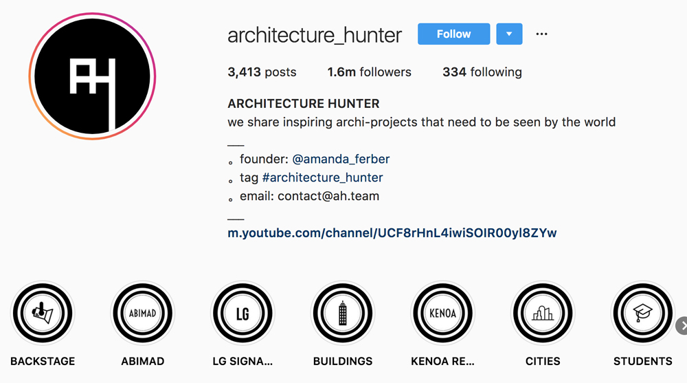 architecture hunter