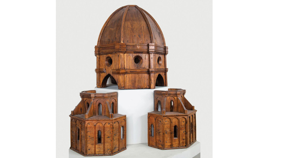 model making architecture florence cathedral dome model